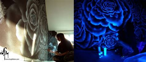 how to paint your room glow in the wonderful glow in the room painting when lights go