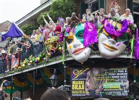 mardi gras parade schedule frenchquartercom