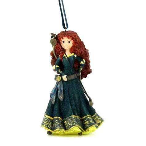 merida christmas ornament disney figurine ornament brave princess merida