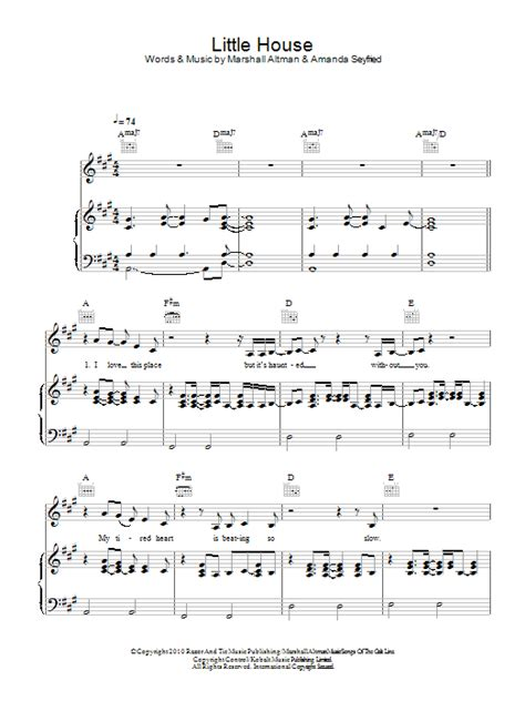 little houses song little house sheet music direct