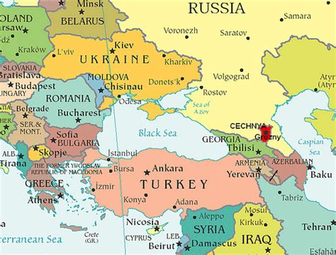 map of europe russia and central asia map of eastern europe and central asia providing context