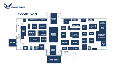 floor plan games flega flemish games association