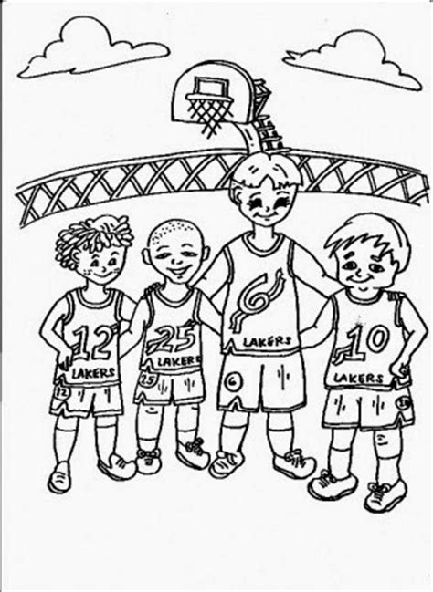 download sports teams coloring pages