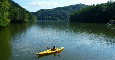 Designed For Outdoors kayaking hungry mother lake abingdon outdoors