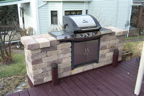 Backyard Grill Station Outdoor Firepits Fireplaces And Grill Stations By Brandon