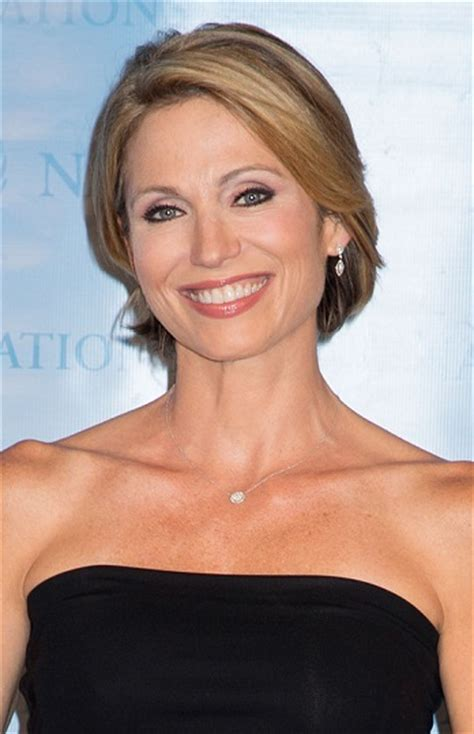 amy robach short hairstyle pic amy robach contemporary bobs for women over 40 l www