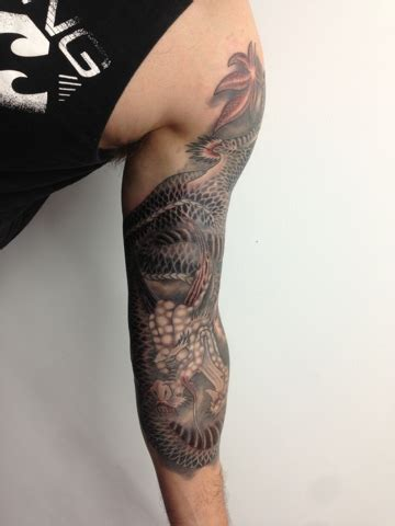 tattoo parlor perth dragon tattoo at primitive tattoo shop perth marc pinto