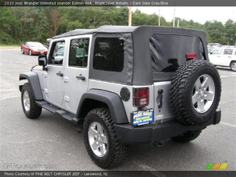 Bright Blue Jeep 2010 Jeep Wrangler Unlimited Islander Edition 4x4 In