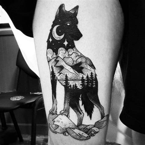 animal tattoo artists los angeles wolf tattoo meaning herinterest com