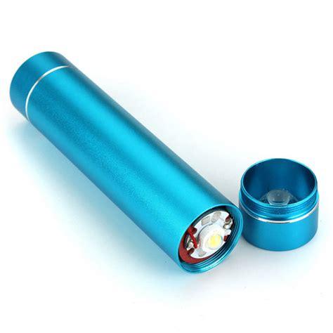 Termurah Usb Led Flashlight For Power Bank Blue buy 2600mah universal portable led light power bank for cellphones bazaargadgets