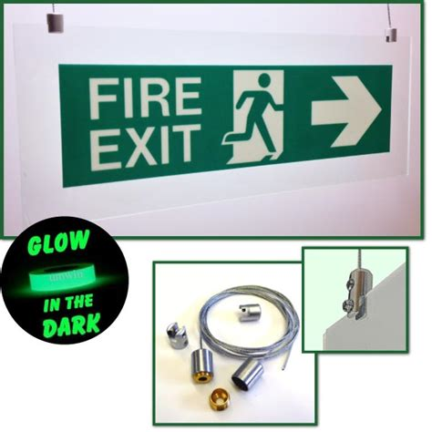 Lu Emergency Exit the sign workshop uk limited