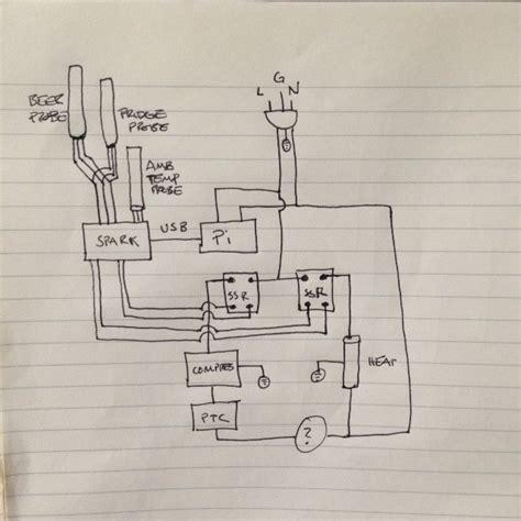 build electronics newb diagram  fridge build