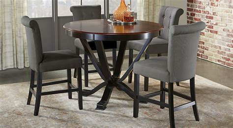 5 dining room sets orland park black 5 pc counter height dining set dining room sets colors