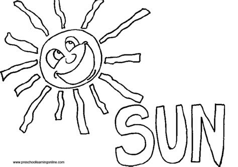 spring sun coloring page index of coloringpages spring