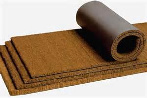 tapis de sol coco paillasson plastique sur mesure