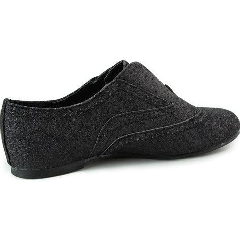 comfortable cute flats comfortable oxford flats easy slip on loafer round toe