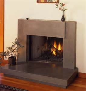 Concrete Fireplace Mantels Custom Contemporary Polished Concrete Fireplace Surround