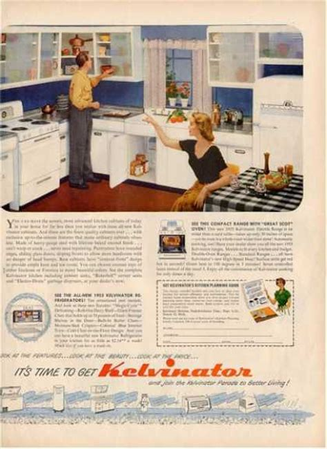 kitchen ads vintage household ads of the 1950s page 45