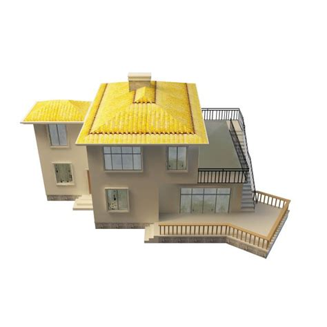 home design 3d gold roof gold villa 3d model 3ds max files free download modeling