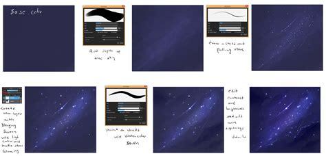 paint tool sai sky tutorial easy sky tutorial by ryky on deviantart
