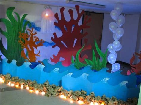 Coral Reef Essay by Fish Balloons Decorations Fish Decorations Totally Doable Fair Carnival The