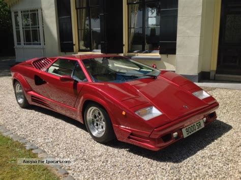 Lamborghini Countach Specs 1989 Lamborghini Countach Car Photo And Specs