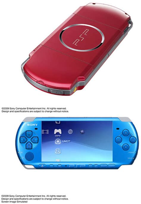 cool fun coolest top best new latest technology electronic coolest latest gadgets asia gets red and blue psps new