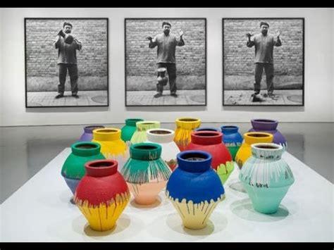Ai Weiwei Vase Ai Weiwei Brushes Off Painter S Smashing Of Us 1m Vase