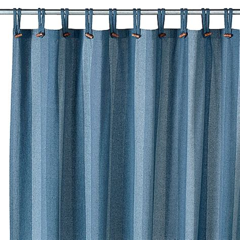 denim drapes eco ordinates 174 houston denim 70 quot x 72 quot recycled fabric