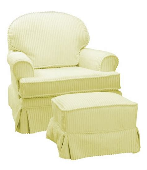 yellow glider and ottoman the rockabye glider ottoman chenille yellow cheap price