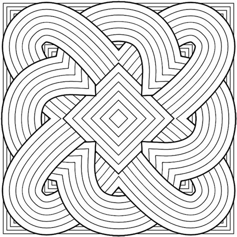difficult pattern in c hard coloring pages for boys dover pinterest adult
