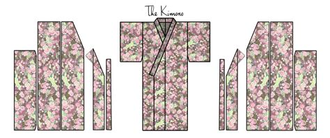 pattern yukata easy kimono pattern 4metres is used to make the