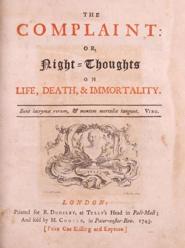 night thoughts wikipedia