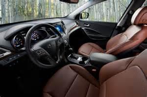 2015 Hyundai Santa Fe Interior 2015 Hyundai Santa Fe Suv Sport Interior Carstuneup