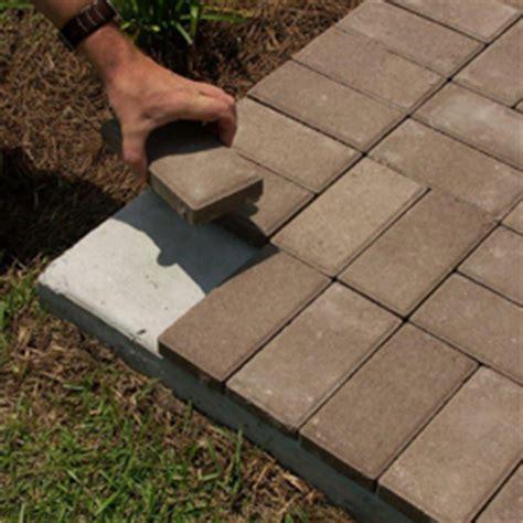 awesome concrete patio thickness 6 thin brick pavers