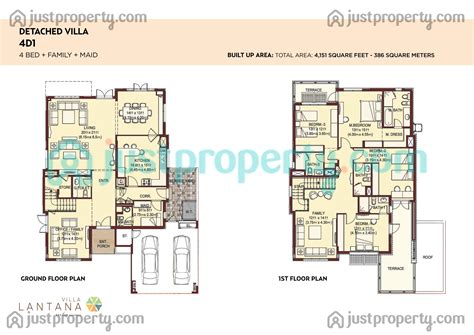 lantana floor plan lantana villas floor plans justproperty