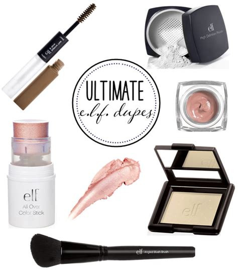 e l f eyeshadow lot ultimate e l f dupes the dumbbelle