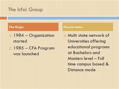 Icfai Distance Mba Pattern by Icfai Distance Learning Program Authorstream