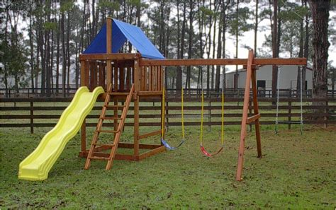 build it yourself swing set apollo diy wood fort swingset plans jack s backyard