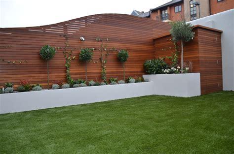 privacy trellis fencing modern garden design hardwood screen privacy cedar screen