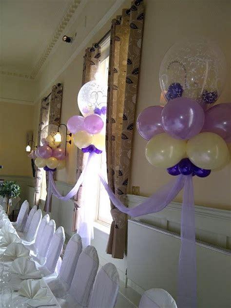 ivory/purple/lavender balloon arch     Balloon