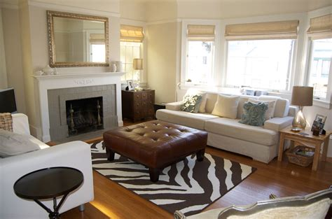 Zebra Rug In Living Room by Zebra Rug For The Living Room Four Walls And A Roof