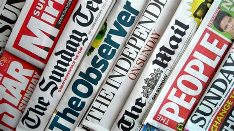 sunday news newspaper review 9 11 attacks recalled bbc news