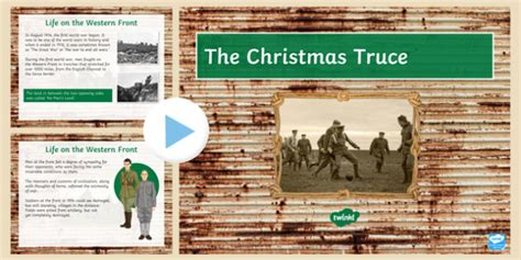 the christmas truceeducation resources the christmas truce 1914 powerpoint