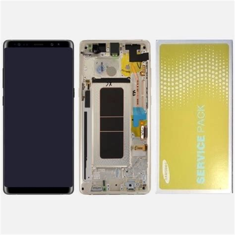 Lcd Galaxy Note 8 for galaxy note 8 lcd oem with frame assembly orchard gray anb components