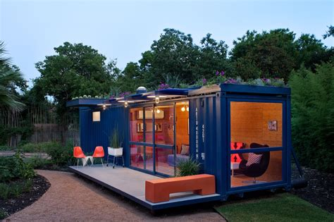 Adventure Journal Shipping Container Guest House San Antonio Texas