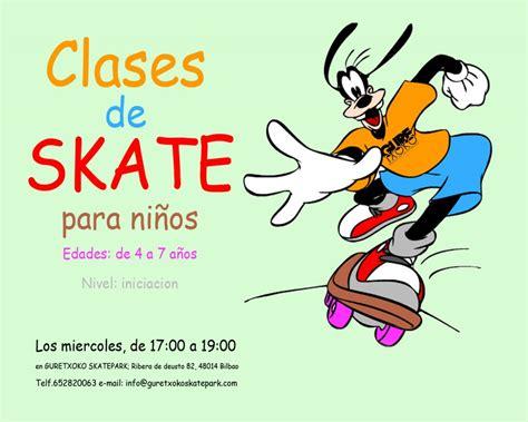 dibujos para cartel cartel clases ni 241 os guretxoko escuela de skate de bilbao