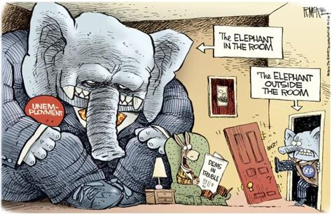 elephant in the room metaphor quot elephant in the room quot is an metaphorical idiom for an obvious that is either