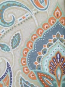 blue orange shower curtain best 25 paisley fabric ideas on pinterest paisley