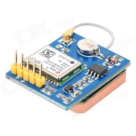 Unblox Neo 6m Gps Module waveshare u blox neo 6m gps to ttl board module blue white free shipping dealextreme